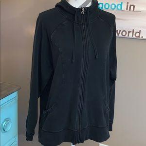 Women's Champion zip hoodie size XXL